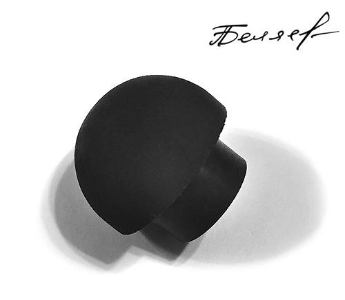Бампер для бильярдного кия, черный матовый