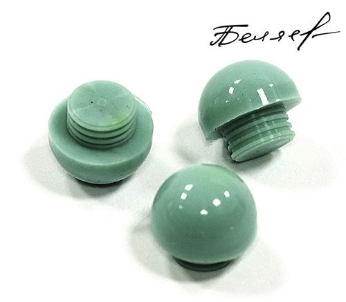 Бампер для бильярдного кия, зеленый глянец