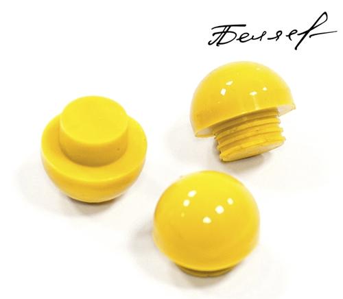 Бампер для бильярдного кия, желтый глянец