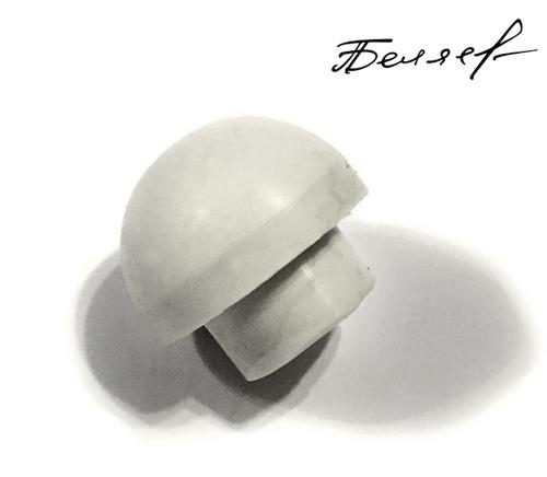 Бампер для бильярдного кия, белый глянец