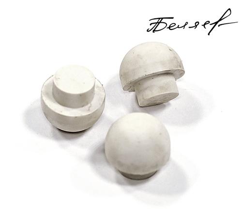 Бампер для бильярдного кия, белый матовый